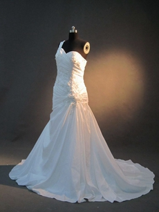Newest One Shoulder Country Wedding Dresses