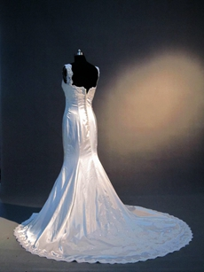 Charming Fitted Mermaid Wedding Dresses