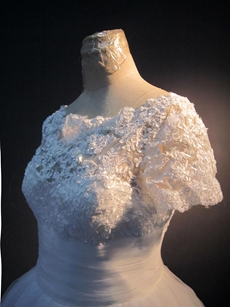 Vintage Lace Short Bridal Dresses with Sleeves