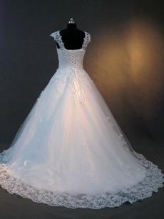 Vintage Princess Lace Wedding Dresses for Plus Size