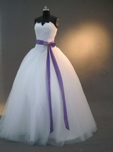 Charming White Puffy Sweet 15 Dresses