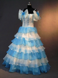 Classical Multi-colored Sweet 15 Dresses With Ruffles