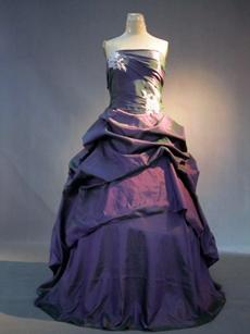 Cheap Grape Plus Size Quinceanera Dresses