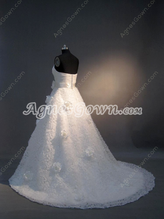 Dazzling Sweetheart Princess Ball Gown Wedding Dresses