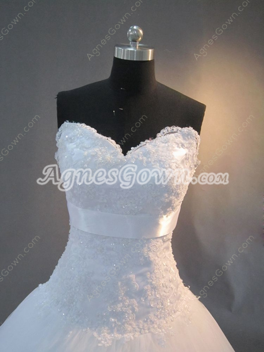 Gorgeous Strapless Outdoor Wedding Dresses