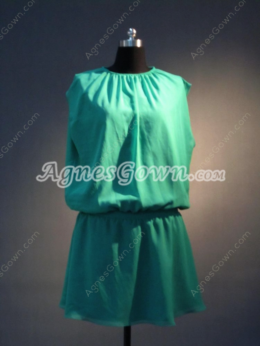 Lovely Green Summer Homecoming Dresses