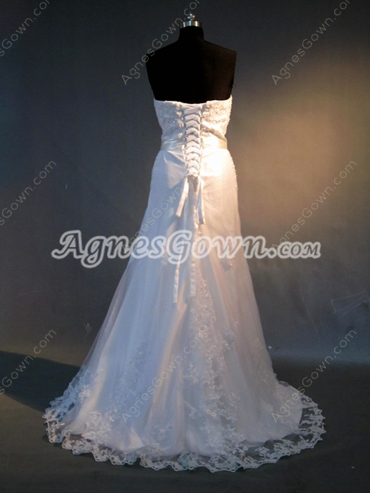 Elegant Lace Wedding Dresses for Old Woman