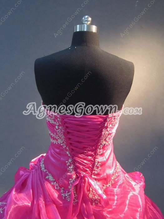 Pretty Hot Pink Masquerad Dresses for Quinceanera