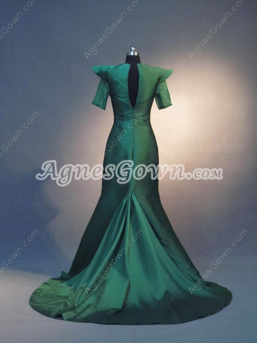 Unique Dark Green Mother Of The Bride Dresses