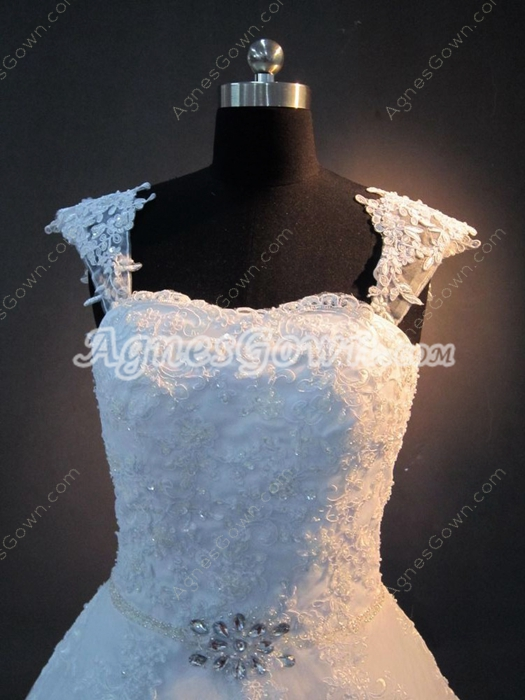 Vintage Princess Lace Wedding Dresses for Plus Size