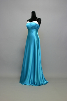 Best Long Turquoise Graduation Dress