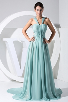 Beautiful Jade Green Prom Dress