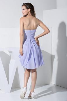 Lovely Lavender Short Homecoming Dress