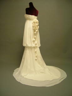 Special Greek Empire Chiffon Maternity Wedding Gowns