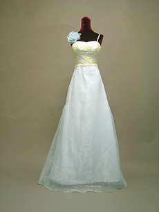 Beautiful Baby Blue Spaghetti Straps Bridesmaid Dresses