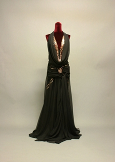 Sexy Black Halter Plus Size Evening Dresses With Sequins