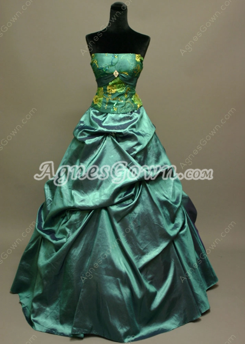 Unique Green Quinceanera Dresses 2015