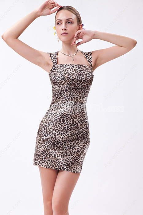 Sexy Leopard Nightclub Dress