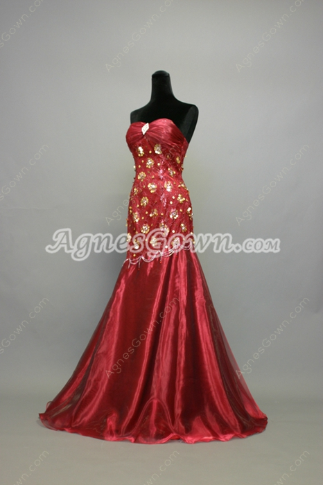 Charming Burgundy Mother of Bride Dresses For Women
