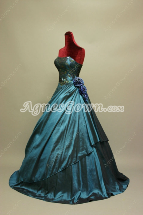 Charming Navy Blue Sweetheart Best Quinceanera Dress
