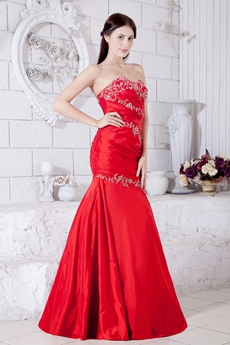 Impressive Mermaid/Fishtail Prom Dress With Appliques