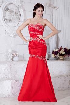 Impressive Mermaid/Fishtail Prom Dress With Appliques