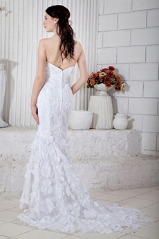 Exquisite Trumpet/Mermaid Lace Wedding Gown