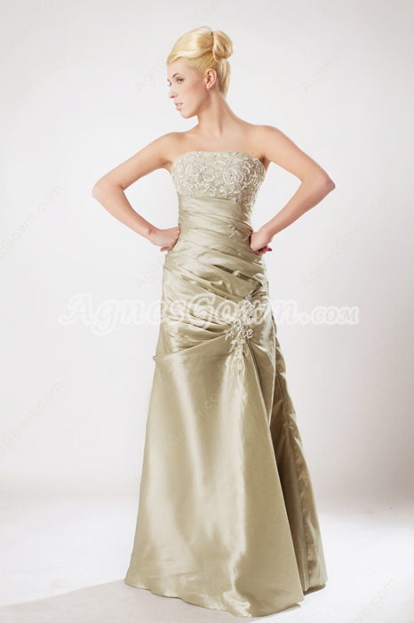 Retro Prom Dress With Lace Appliques