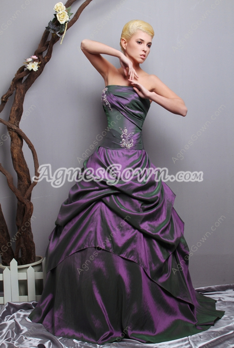 Special Ball Gown Dark Purple Quinceanera Dress