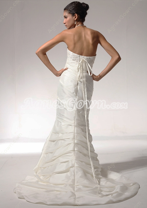 Vintage Wedding Dress Corset Back