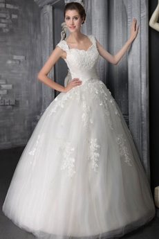 Impressive Ball Gown Cinderella Wedding Dress With Lace