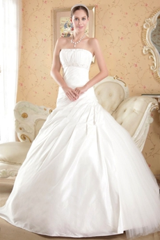Perfect Couture Wedding Dresses with Ruched Bodice