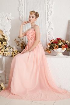 Beautiful Empire Coral Maternity Prom Dress