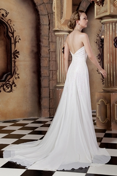 Luxurious Beaded Summer Wedding Dress