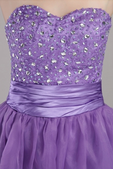 Pretty Sweetheart Lavender Sweet 16 Gowns