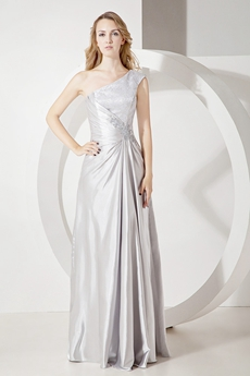 Brilliant One Shoulder A-line Bridesmaid Dresses