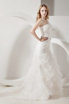 Perfect Mermaid Couture Wedding Dresses 2016
