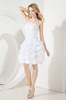 Romantic White Sweet Sixteen Dresses