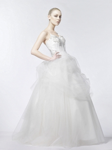 Vintage Ball Gown Bridal Dress