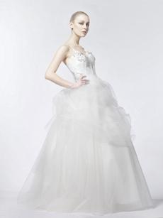 Vintage Ball Gown Bridal Dress