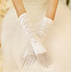 Fingertips Elbow Bridal Gloves