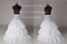 3 Layers Puffy Full Length Wedding Petticoat