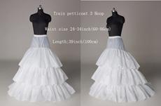 3 Layers Puffy Full Length Wedding Petticoat