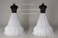 2 Layers A-line Long Length Petticoats For Wedding Gowns