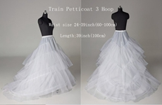 3 Layers Full Length Wedding Petticoats