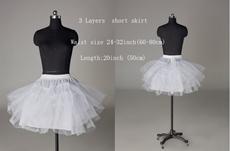 3 layers Tutu Short Petticoat