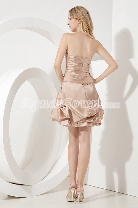 Sweet Champagne Dama Dress