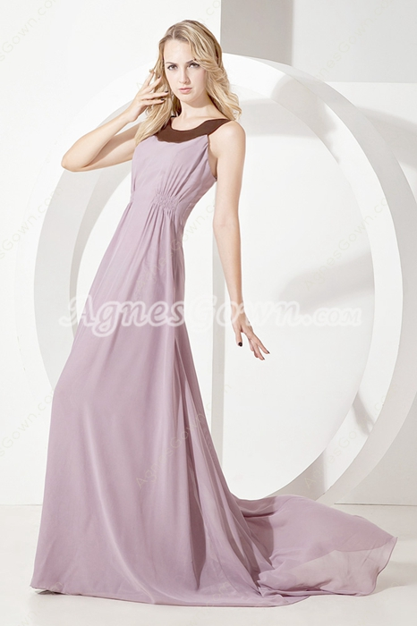 Glamorous Scoop Mother of Bride Dresses Beach Wedding