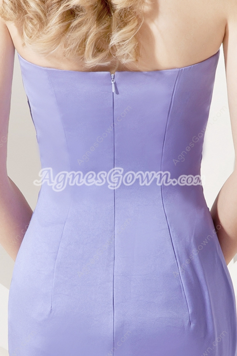 Elegant Lavender Mermaid Evening Dresses