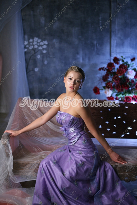 Elegant Lavender Formal Evening Dresses